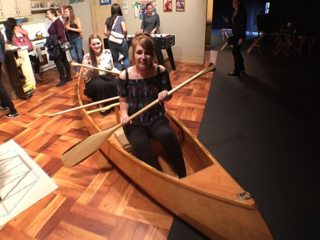 Chandler & Joey's Canoe