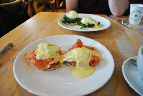 Eggs Royale & Eggs Florentine